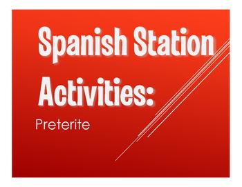 Spanish Preterite Stations