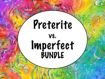 Spanish Preterite vs. Imperfect (comparison) BUNDLE- Power