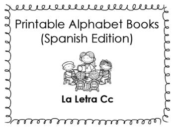 Spanish Printable letter book (La Letra Cc)