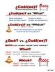 Spanish Question Words Grammar Notes