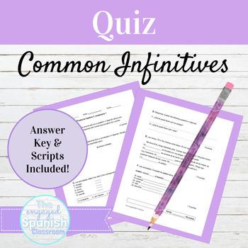 Spanish Quiz Expresate 1 Chapter 3 Vocab 1: Common Spanish