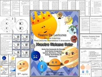 Nuestro Sistema Solar, Our Solar System, Spanish Science S