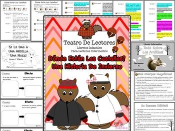 Spanish Reader's Theater Script: Squirrels In Winter, Read