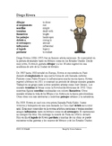 Diego Rivera Biography ~ Lectura de la vida de Diego Rivera