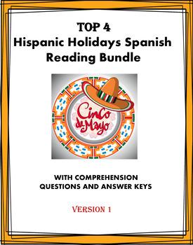 Spanish Holidays Reading Bundle ~ Los días festivos Lectur