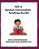 Spanish Intermediate Reading Bundle ~ Lecturas para intermedios