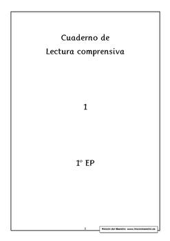 Spanish Reading Comprehension 1