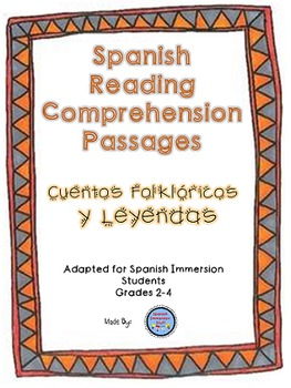 Spanish Reading Comprehension Packet {Cuentos Folkloricos