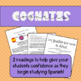 Spanish Reading Comprehension Practice- Cognates! Comprehe