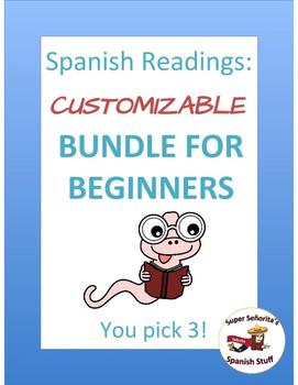 Spanish Reading: Customized Bundle for Beginners