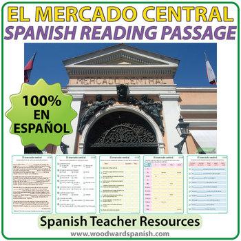 Spanish Reading - El Mercado Central