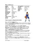 Mis pasatiempos Lectura ~ Spanish Reading ~ Script about Hobbies