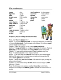 Mis pasatiempos Lectura ~ Spanish Reading and Worksheet ~