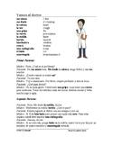 Visto al doctor Lectura ~ Visiting the Doctor Spanish Read