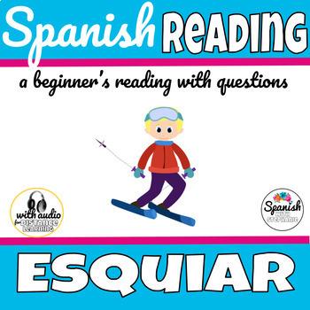 Spanish Reading: Ski vocab