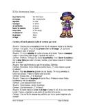 El fin de semana Lectura ~ Weekend Plans Spanish Reading (