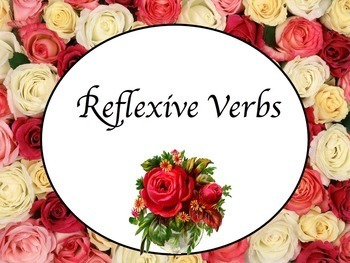 Spanish Reflexive Verbs Keynote Slideshow Presentation