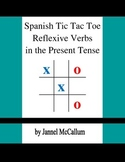 Spanish Reflexive Verbs - Tic Tac Toe Game