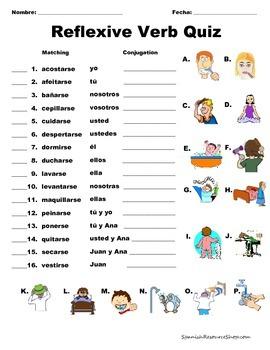 Spanish Reflexive Verbs VALUE PACK BUNDLE