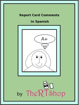 Spanish Report Card Comments Perfect For End Of The Year (