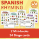 Spanish Rhyming Words las rimas for Dual Language