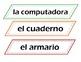 Spanish Room Labels