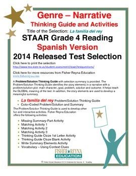 Spanish STAAR Analysis & Activities: La familia del rey, Grade 4