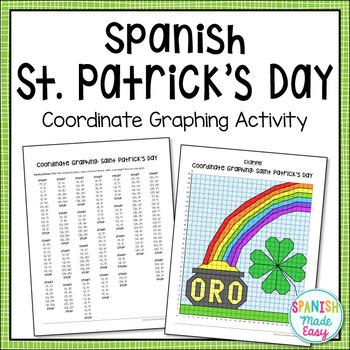 Spanish Saint Patrick's Day Graphing