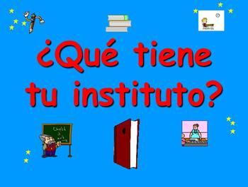 Spanish Teaching Resources. School Vocabulary PowerPoint