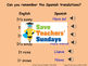 Spanish Seasons & weather Lesson plan, PowerPoint (with au