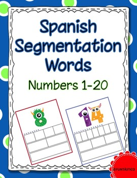 Spanish Segmentation Words-Numbers 1-20
