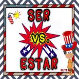 Spanish Ser vs. Estar Grammar Notes and Practice Powerpoin