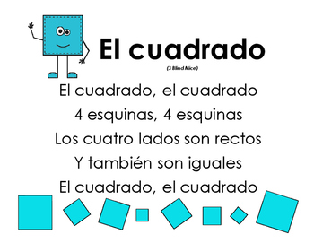 Spanish Shapes Songs