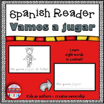 Spanish Reader - Vamos a jugar