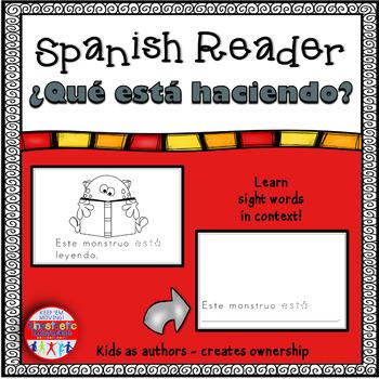 Spanish Reader - ¿Qué está haciendo?
