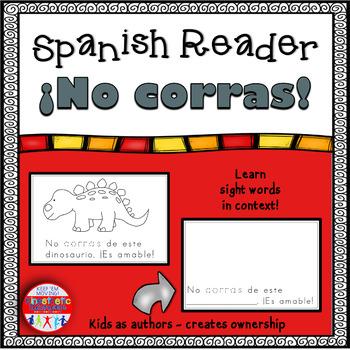 Spanish Reader -  ¡No corras!