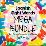 Spanish Sight Words Mega Bundle