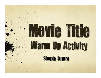 Spanish Simple Future Movie Titles
