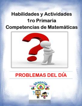 Spanish Skills and Activities 1st Grade Mathematics / 1ro