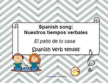 Spanish Song: Nuestros tiempos verbales. Spanish verbs con