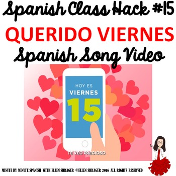 "Spanish Song Video ""Querido Viernes"" ups Class Routine, Tr"