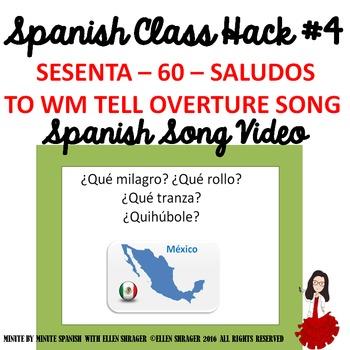 """Spanish Song Video """"Sesenta Saludos"""" improves Class Routin"""