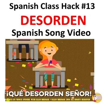 "Spanish Class Hack: Music Video ""Desorden"" Improves Manage"