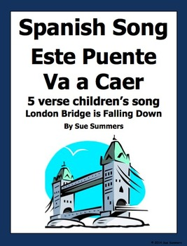 Spanish Song with Actions - Este Puente Va A Caer - London Bridge
