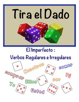 Spanish Imperfect Speaking Activity (Dice, Groups)