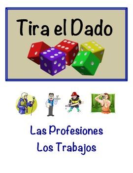 Spanish Jobs & Professions Vocabulary Speaking Activity (D