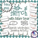 Spanish Speaking Activity with Future Tense - Hard Good