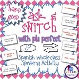 Spanish Speaking Activity with Plu Perfect Tense - Hard Good