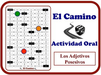 Spanish Possessive Adjectives Speaking Activity. Quick Prep