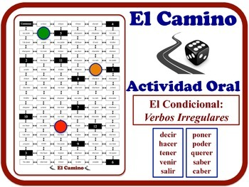 Spanish Conditional (Irregular Verbs) Speaking Activity. Q